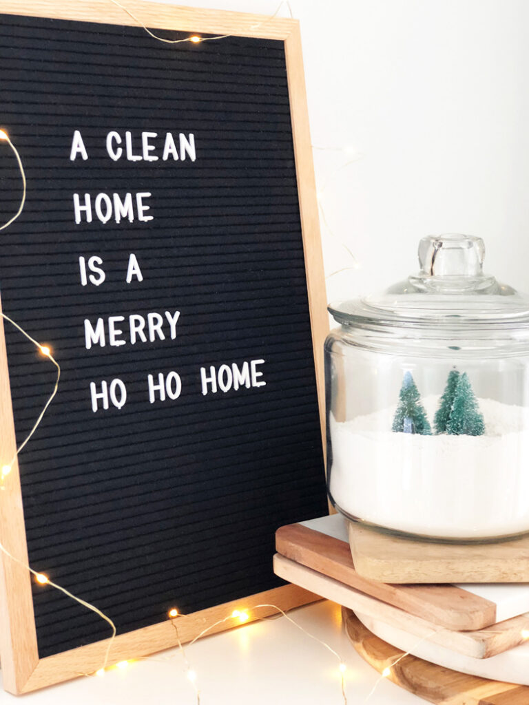 Reminders image a clean home is a merry home